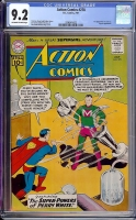 Action Comics #278 CGC 9.2 ow/w