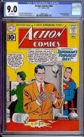 Action Comics #282 CGC 9.0 ow