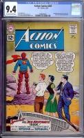 Action Comics #283 CGC 9.4 ow/w