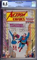 Action Comics #285 CGC 8.5 ow