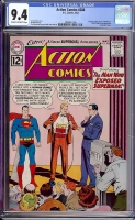 Action Comics #288 CGC 9.4 cr/ow