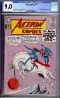 Action Comics #293 CGC 9.0 w