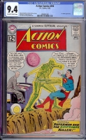 Action Comics #294 CGC 9.4 ow/w