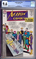 Action Comics #318 CGC 9.6 ow/w
