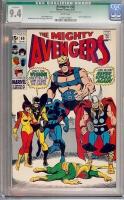 Avengers #68 CGC 9.4 w