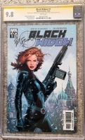 Black Widow #1 CGC 9.8 w CGC Signature SERIES