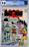 Batman #121 CGC 9.0 ow/w