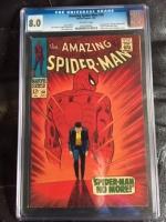 Amazing Spider-Man #50 CGC 8.0 ow