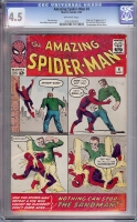 Amazing Spider-Man #4 CGC 4.5 ow/w