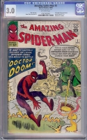 Amazing Spider-Man #5 CGC 3.0 ow