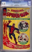 Amazing Spider-Man #8 CGC 3.5 cr/ow