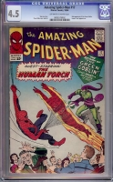 Amazing Spider-Man #17 CGC 4.5 ow/w
