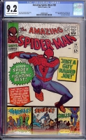 Amazing Spider-Man #38 CGC 9.2 ow/w