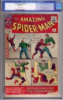 Amazing Spider-Man #4 CGC 1.5 ow