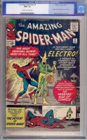 Amazing Spider-Man #9 CGC 1.5 cr/ow