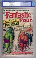 Fantastic Four #12 CGC 5.5 ow