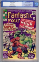 Fantastic Four #25 CGC 5.0 cr/ow