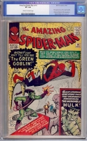 Amazing Spider-Man #14 CGC 4.0 cr/ow