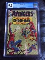 Avengers #11 CGC 9.6 ow/w