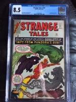 Strange Tales #109 CGC 8.5 ow/w