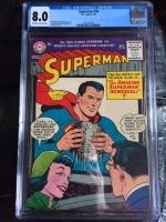 Superman #98 CGC 8.0 ow/w