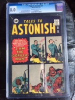 Tales to Astonish #28 CGC 8.0 ow/w