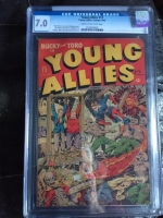 Young Allies #13 CGC 7.0 cr/ow