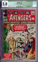 Avengers #1 CGC 5.0 ow