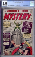 Journey Into Mystery #85 CGC 5.0 ow/w