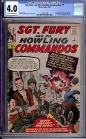 Sgt. Fury and His Howling Commandos #1 CGC 4.0 ow/w