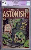 Tales to Astonish #27 CGC 2.5 cr/ow