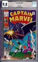 Captain Marvel #11 CGC 9.8 w Western Penn