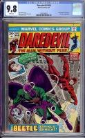 Daredevil #108 CGC 9.8 w