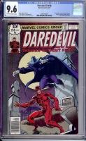 Daredevil #158 CGC 9.6 ow/w