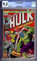 Incredible Hulk #181 CGC 9.2 w