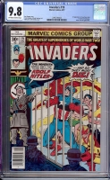 Invaders #22 CGC 9.8 ow/w