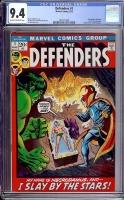 Defenders #1 CGC 9.4 ow/w