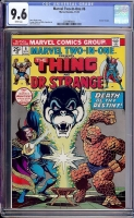 Marvel Two-In-One #6 CGC 9.6 w
