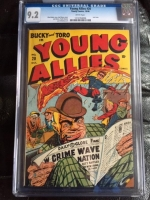 Young Allies #20 CGC 9.2 w