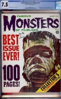 Famous Monsters of Filmland #13 CGC 7.5 cr/ow