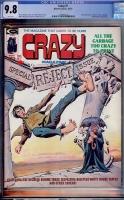 Crazy #7 CGC 9.8 w