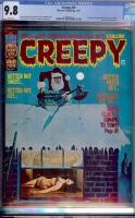 Creepy #59 CGC 9.8 w