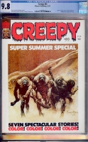 Creepy #83 CGC 9.8 ow/w