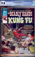 Deadly Hands of Kung Fu #2 CGC 9.8 w