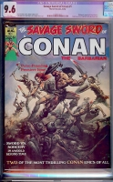 Savage Sword of Conan #1 CGC 9.6 w