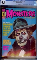 Famous Monsters of Filmland #109 CGC 9.4 ow/w