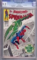 Amazing Spider-Man #64 CGC 9.2 w