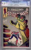 Amazing Spider-Man #67 CGC 9.2 ow/w