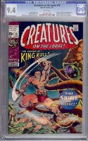 Creatures On The Loose #10 CGC 9.4 w