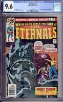 Eternals #1 CGC 9.6 w